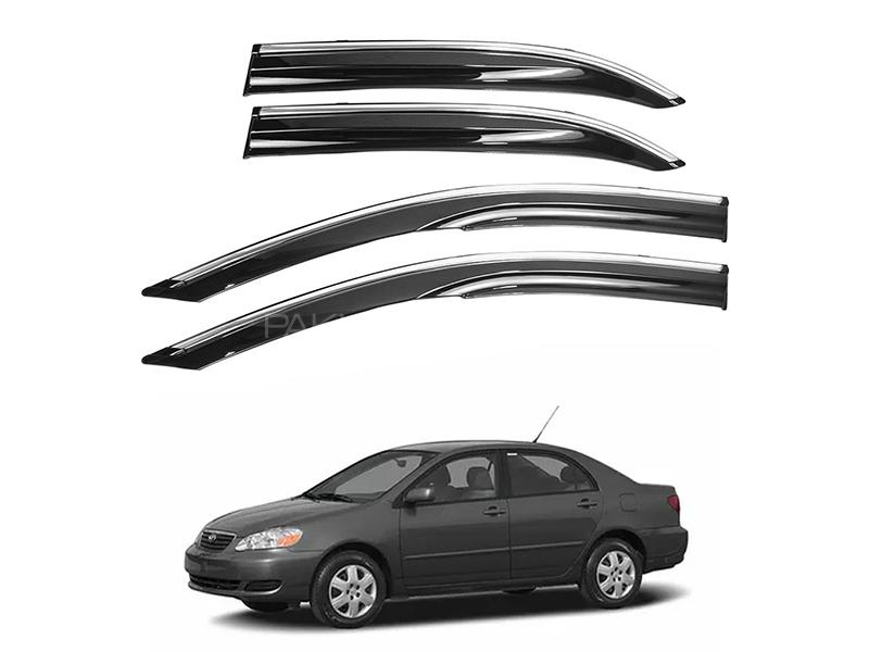 Air Press With Chrome Strip For Toyota Corolla 2002-2008 Image-1