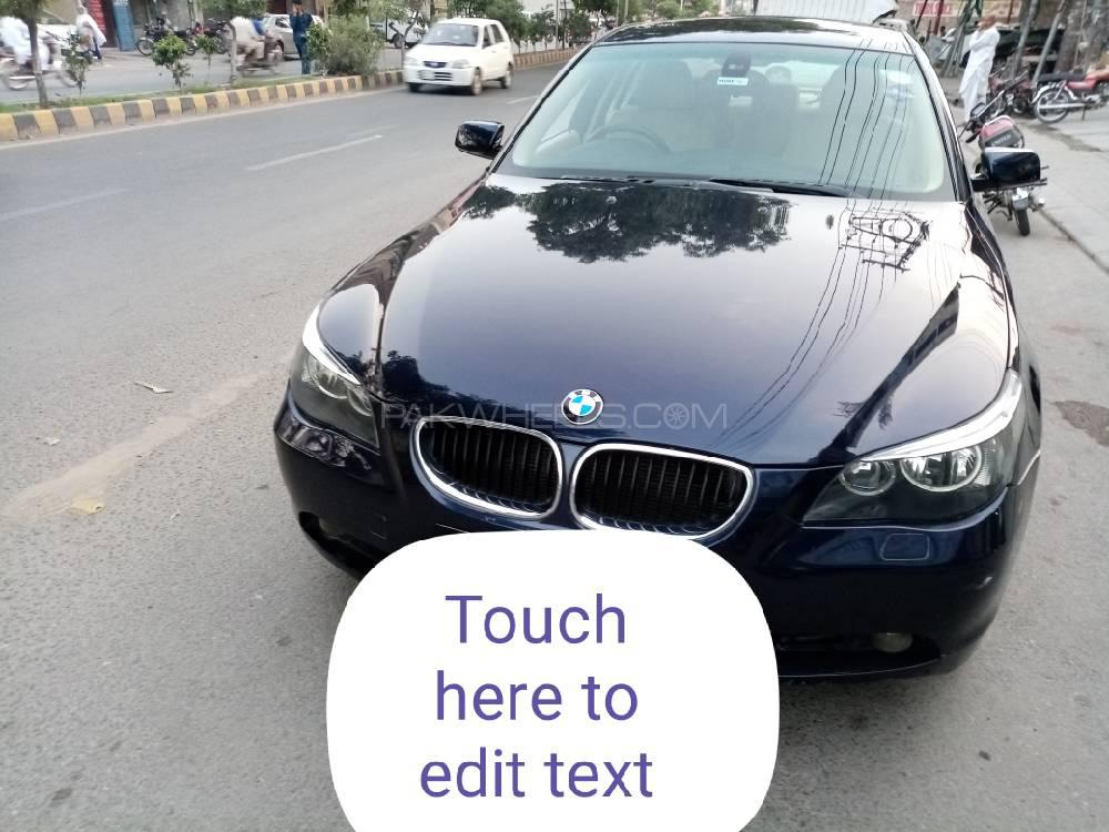 BMW 5 Series 525i 2003 Image-1