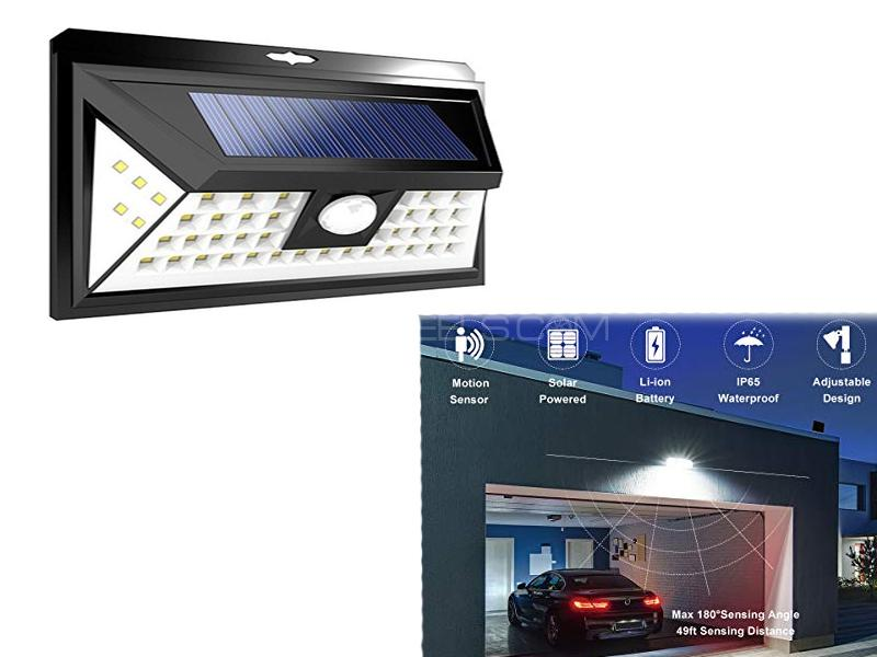 Solar Power 48 Led Garage Light Image-1