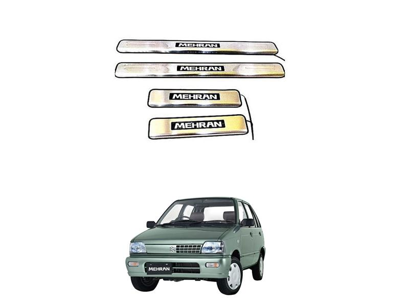 Suzuki Mehran Door Sill Plates With Light - 1988-2019 Image-1