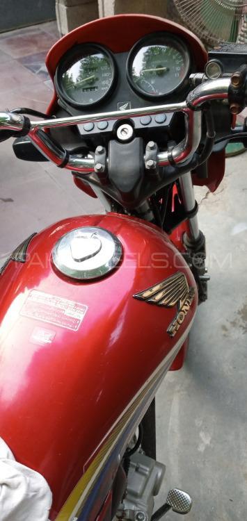 Honda CG 125 Deluxe 2014 Image-1