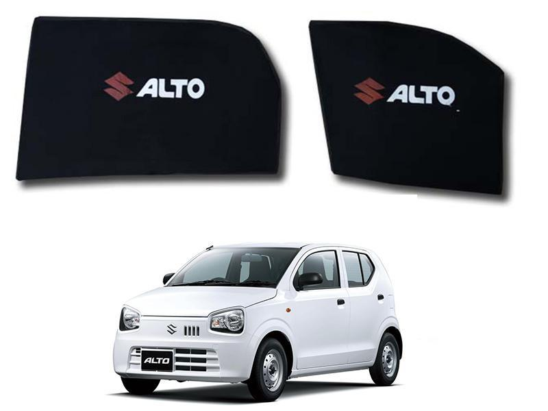Suzuki Alto Side Fixed Shades With Logo 2014-2019 in Lahore
