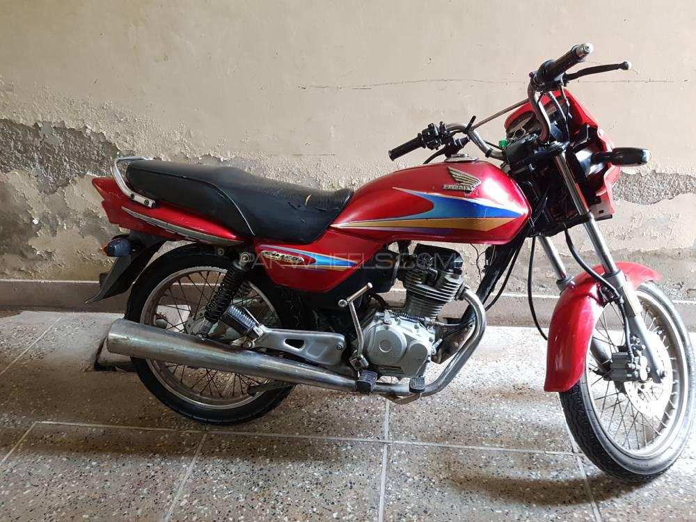 Honda CG 125 Deluxe - 2006 Red Fire Image-1