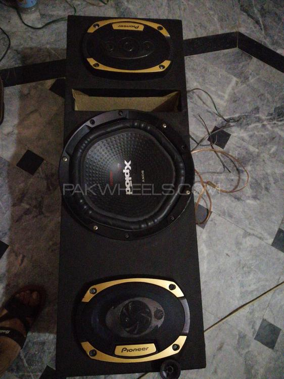 Sony voofer pioneer speakers original China emp Image-1
