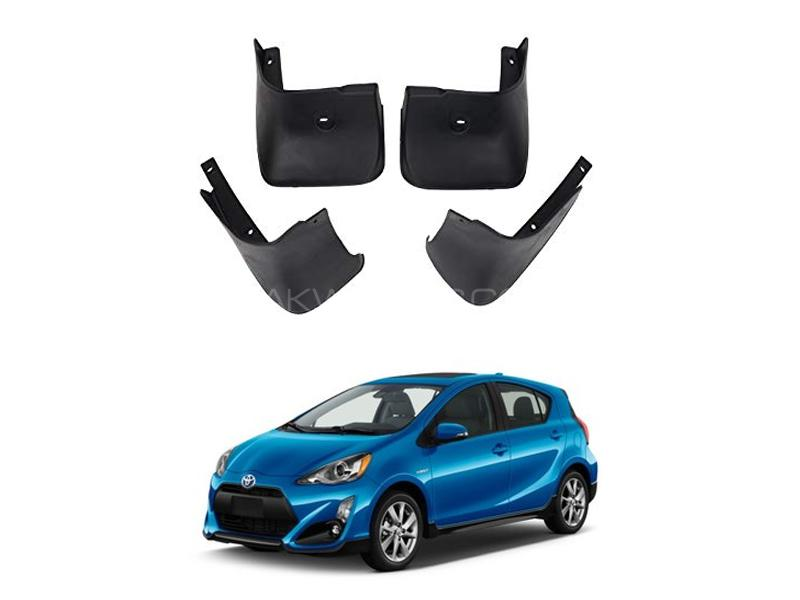 Toyota Aqua Mud Flap Set 4pcs 2012-2019 in Lahore