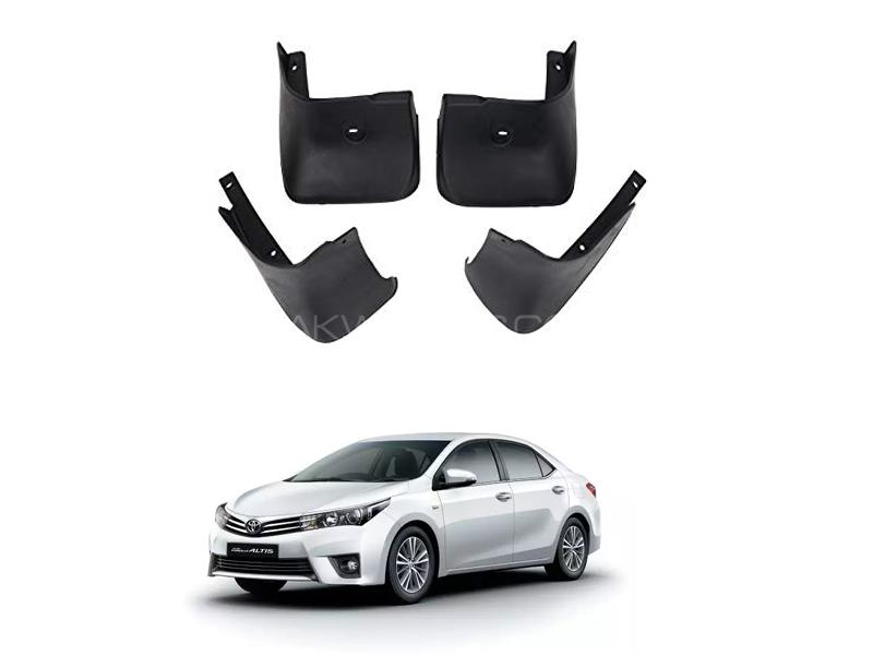 Toyota Corolla Mud Flap Set 4pcs 2014-2017 in Lahore