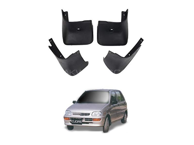 Daihatsu Cuore Mud Flap Set 4pcs 2000-2012 Image-1