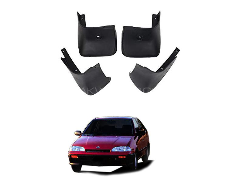 Suzuki Margalla Mud Flap Set 4pcs 1992-1998 Image-1