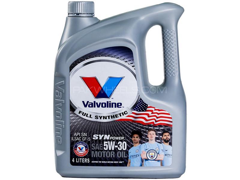 Valvoline Gasoline Oil Synpower 5w-30 - 4 Litre Image-1