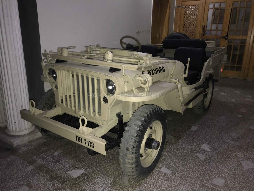 Willys M38 - 1946 shoaib  Image-1