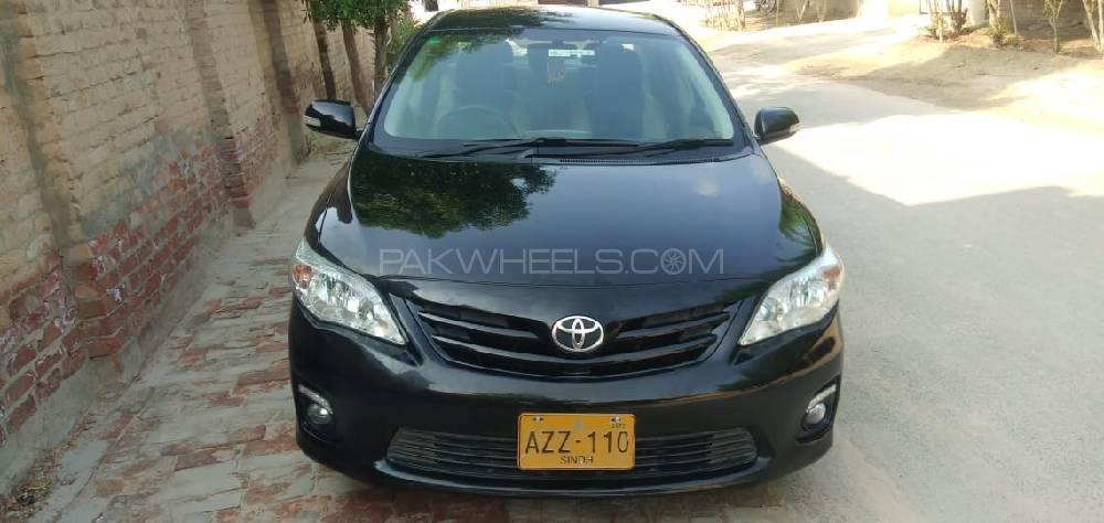 Toyota Corolla GLi Automatic Limited Edition 1.6 VVTi 2013 Image-1