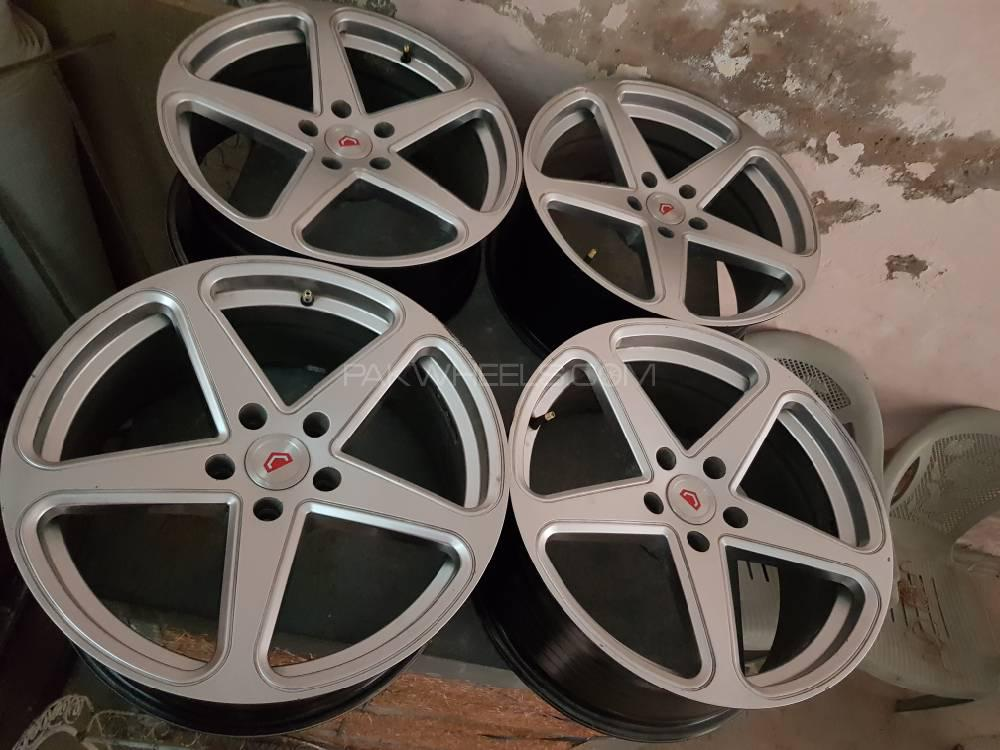 18 Inch Tires >> 18 Inch Vossens With Tires For Sale