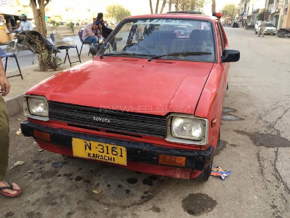 Toyota Starlet 1.0 1982 Image-1