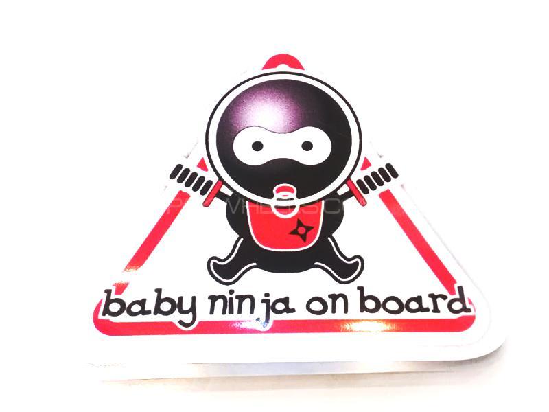 Baby Ninja Onboard Sticker  Image-1