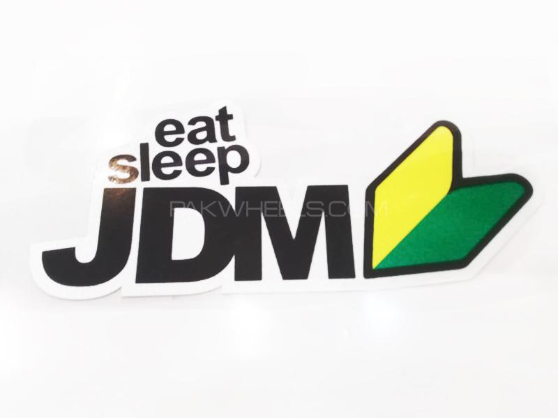 Eat Sleep JDM Sticker Image-1