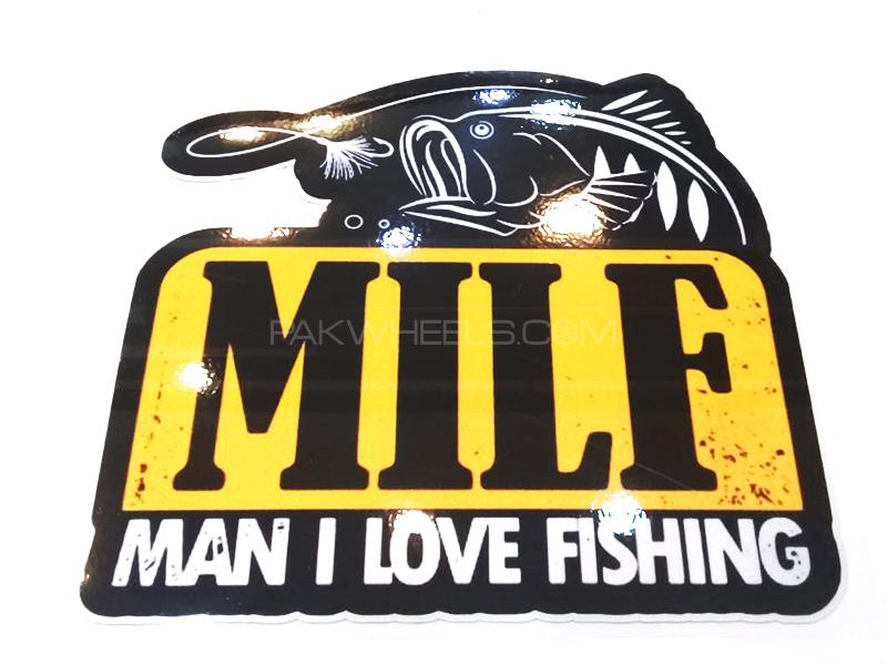 Man I Love FIshing Sticker  Image-1