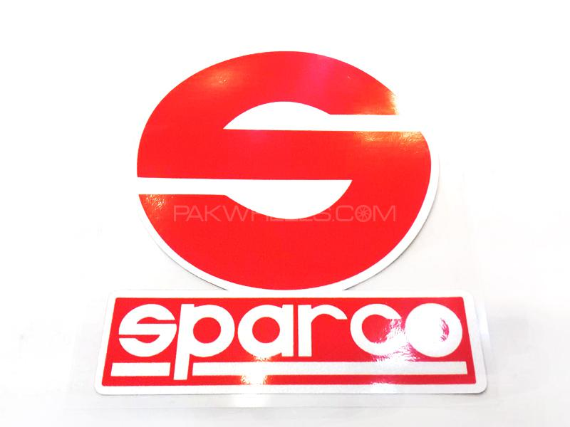 Sparco Sticker  Image-1