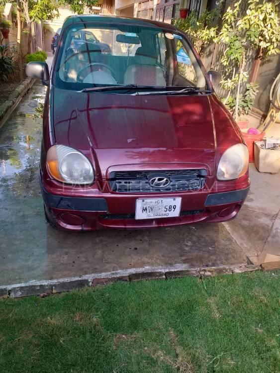 Hyundai Santro Club 2008 Image-1