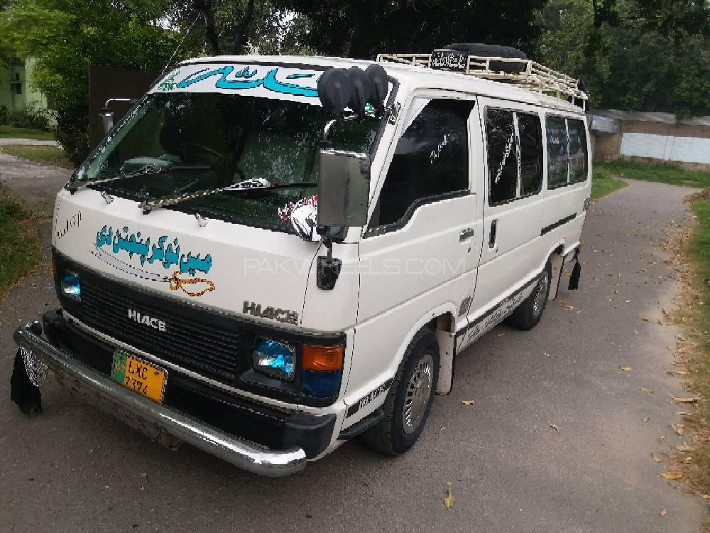 Toyota Hiace DX 1988 Image-1