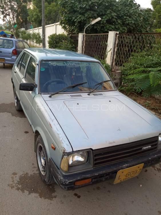 Toyota Starlet 1.0 1984 Image-1