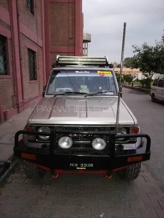 Toyota Land Cruiser GX-R 1985 Image-1