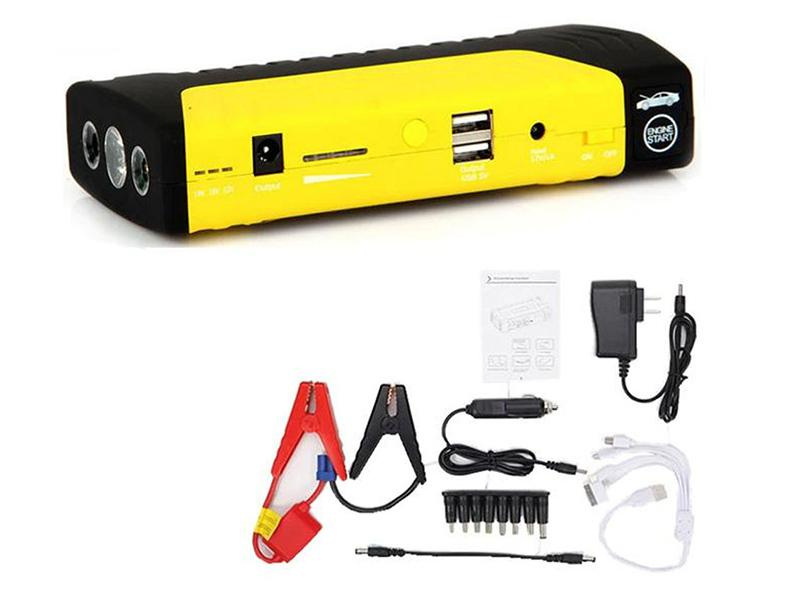 High Power Jump Starter Power Bank Station - Yellow in Karachi