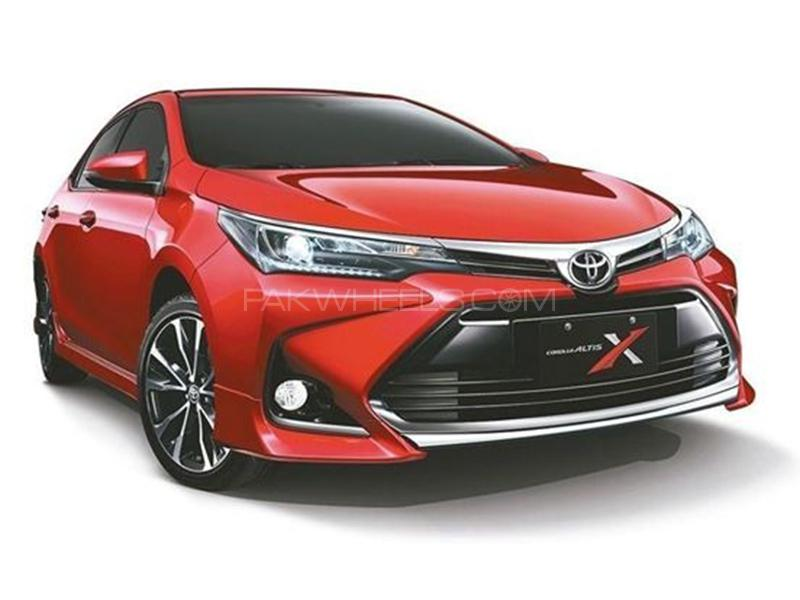 Face Lift Altis X Front Bumper FOr Toyota Corolla 2017-2019 Image-1