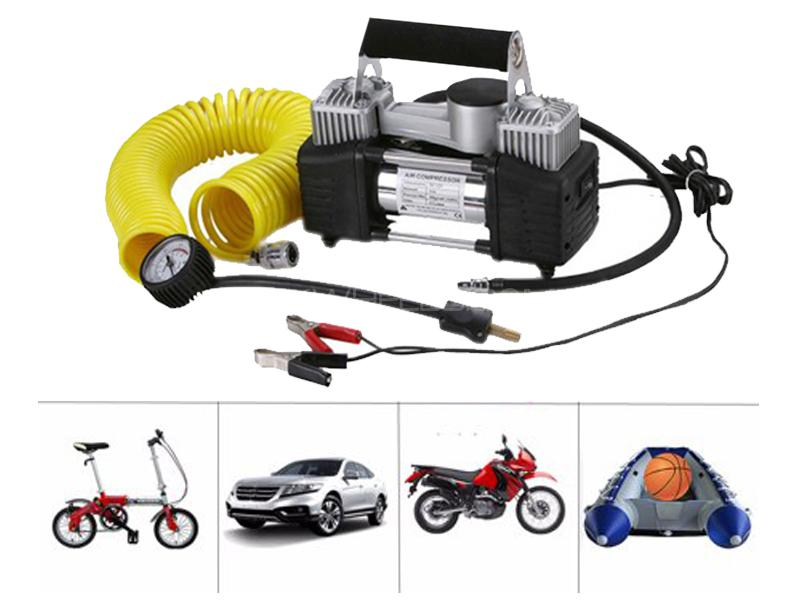 Portable Heavy Duty Double Cylinder Air Compressor - 628 in Lahore