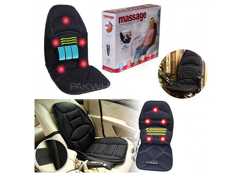 Massager Full Seat Topper With Soothing Heat Image-1