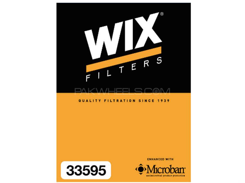 Wix Air Filter For Toyota Vitz 1000cc  2011-2015 - Made in Poland Image-1