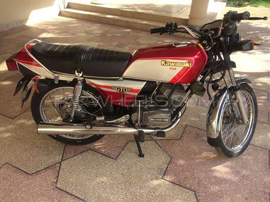 Kawasaki GTO 125 1990 Image-1