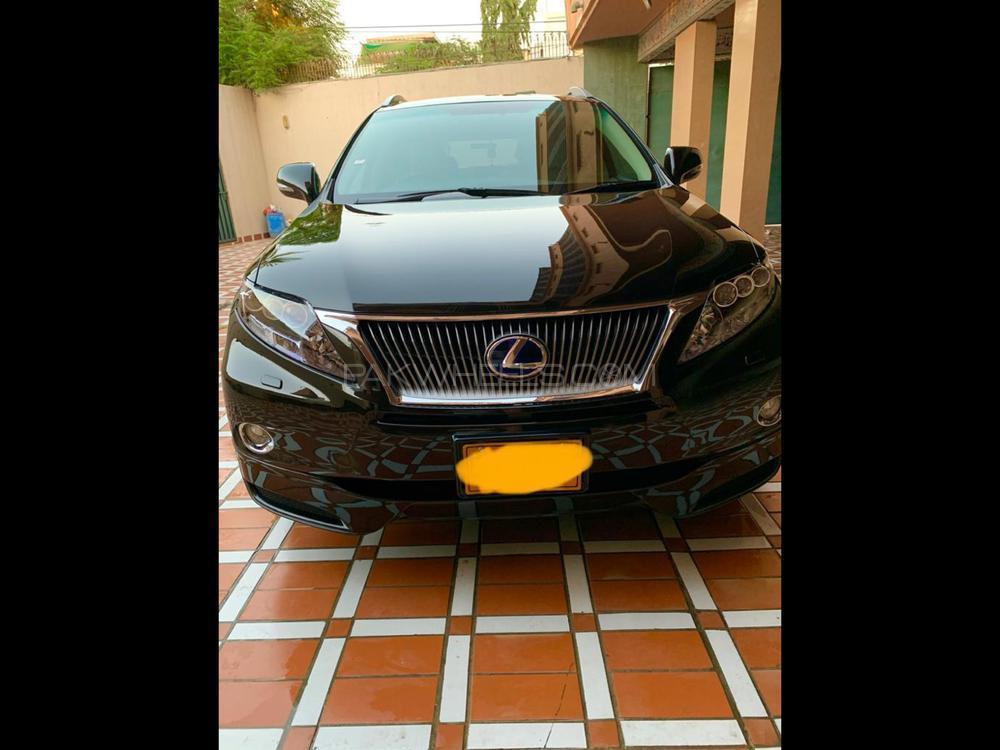 Lexus RX Series 450H 2011 Image-1