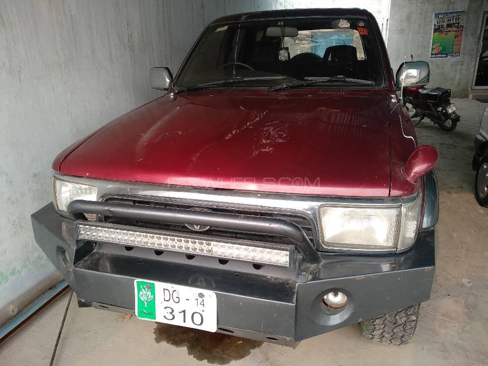 Toyota Surf SSR-G 2.7 1993 Image-1