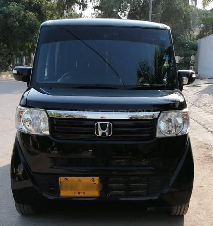 Honda N Box Plus G-L PACKAGE 2014 Image-1
