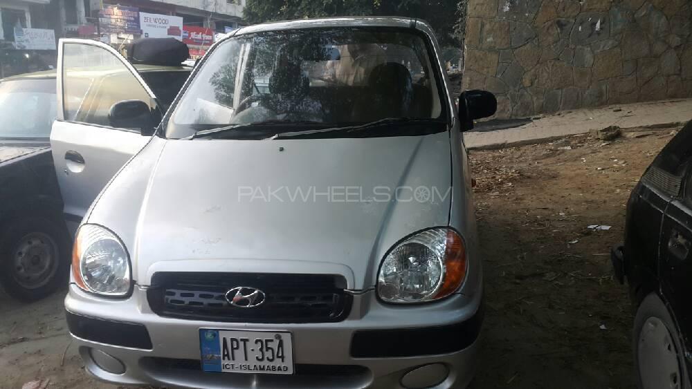 Hyundai Santro Club 2007 Image-1