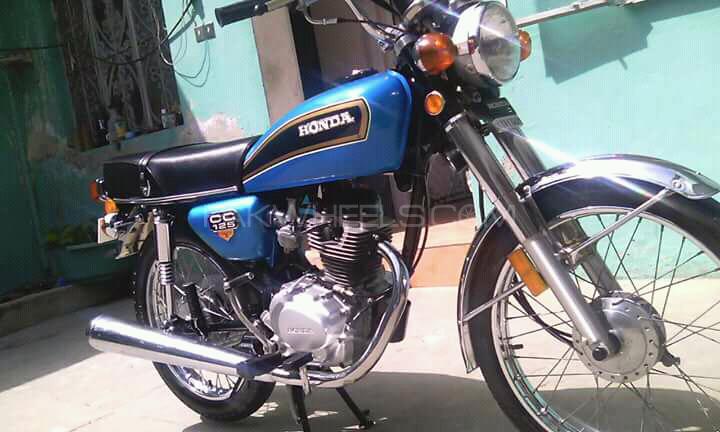 Honda CG 125 - 1982  Image-1