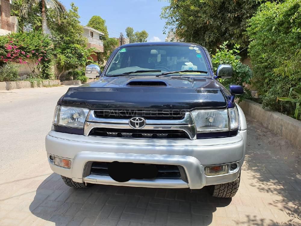 Toyota Surf SSR-X 3.0D 2001 Image-1