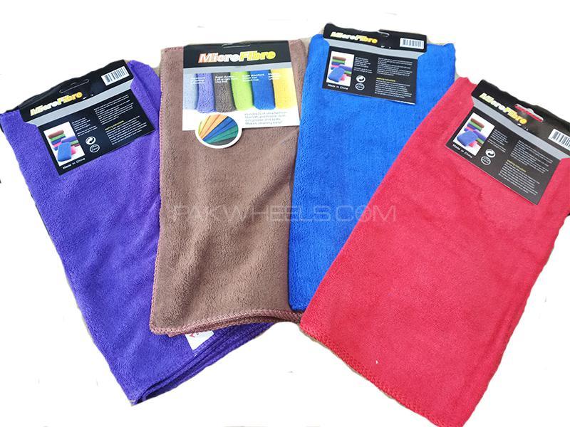 Micro Fiber Cloth - 4 Pcs Image-1