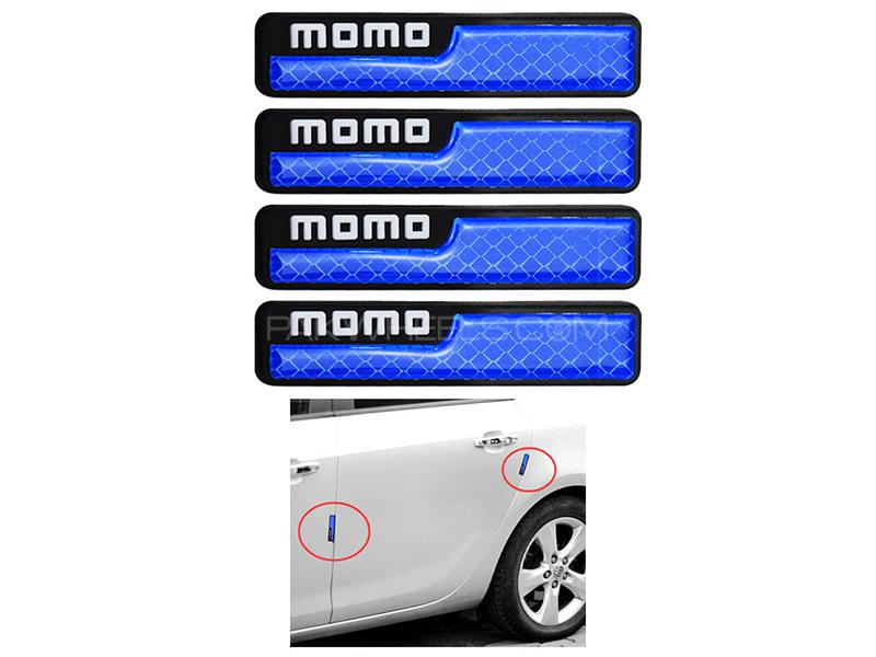 Universal Door Guard With Reflector Momo - Blue Image-1