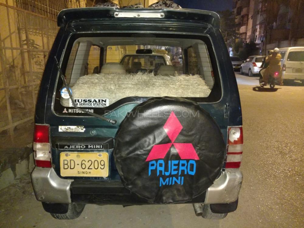 Mitsubishi Pajero Mini Limited 2000 Image-1