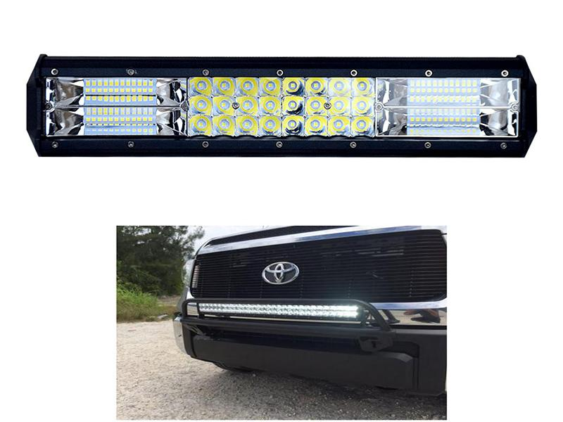4x4 LED Fog Bar Light 12 Inch 216W Image-1