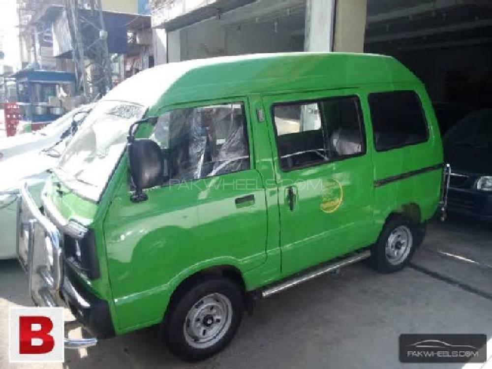 Suzuki Bolan Cargo Van Euro ll 2016 Image-1