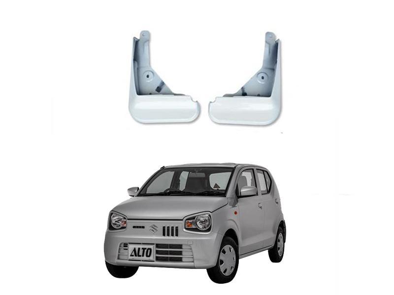 Mud Flaps Oem For Suzuki Alto 2018-2019 2pc White in Lahore