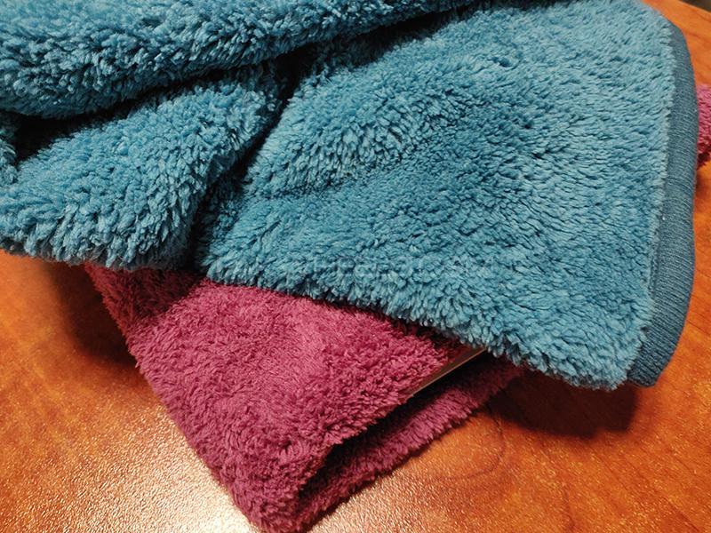 Double Sided Terry Polishing Towel 50x50 1pc Image-1