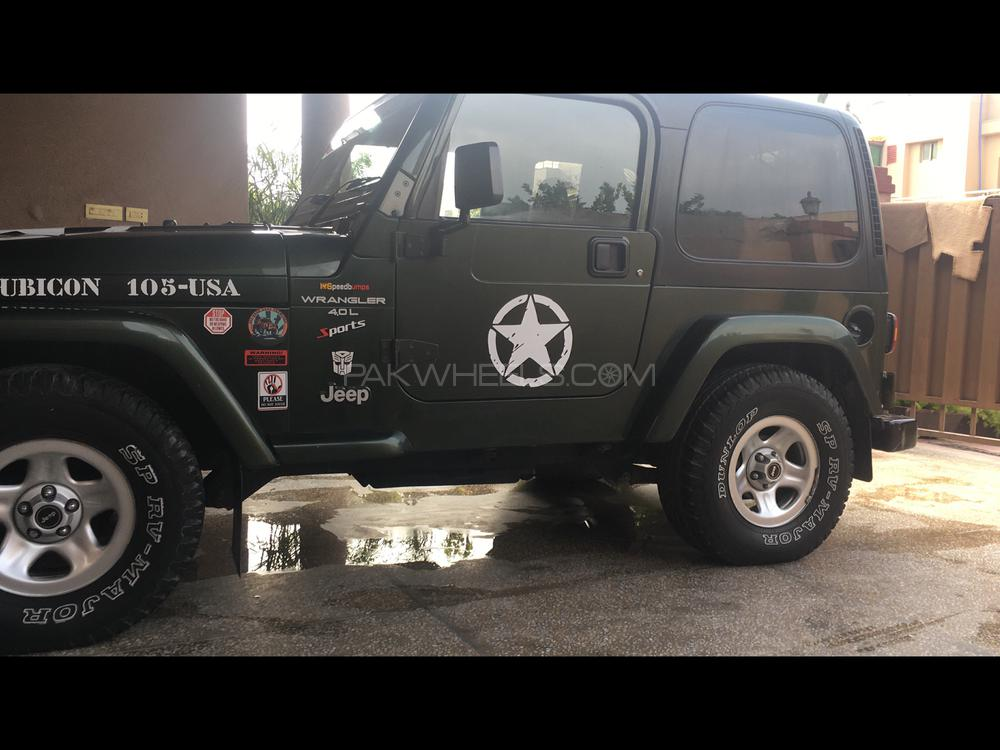 Buy Jeep Wrangler >> Jeep Wrangler Extreme Sport 2005 For Sale In Rawalpindi Pakwheels