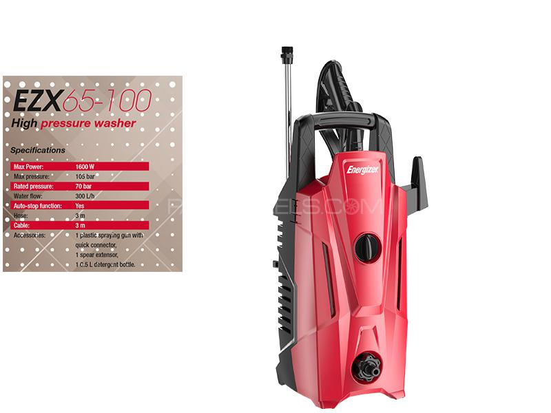 Energizer High Pressure Washer 1600w - EZX65-100 Image-1