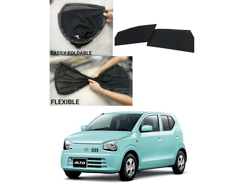 Foldable & Flexible Sun Shades For Suzuki Alto 2019-2020 Image-1