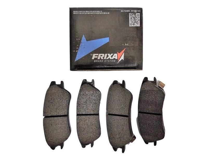 Frixa Front Brake Pad For Toyota Vitz 2014-2020 - FPE037 Image-1