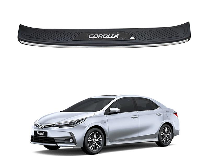 Toyota Corolla 2017-2020 Facelift Bumper Protector  Image-1