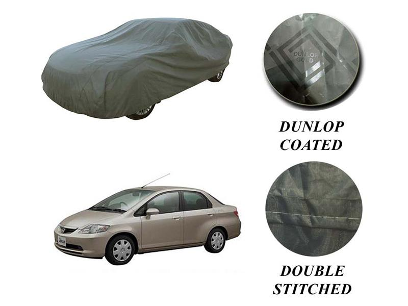 PVC Coated Double Stitched Top Cover For Honda City 2003-2008 Image-1